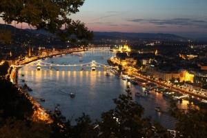 Budapest-Nachtsicht